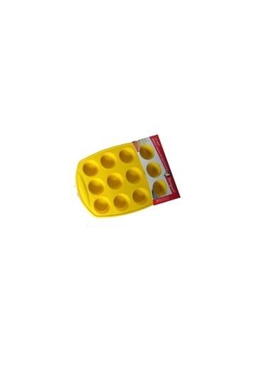 Penguen Silikon Kek Kalıbı - 12 Li Pratik Kek Kalıbı Renkli